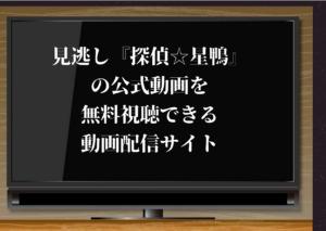 探偵☆星鴨,動画,無料,見逃し,配信,無料視聴,再放送,1話,最終回,有岡大貴,Hey! Say! JUMP