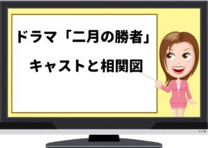 二月の勝者,ドラマ,キャスト,相関図,登場人物,子役,浅井紫